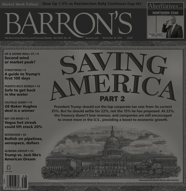Barrons Weekly Cover